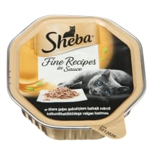 Kaķu konservi sheba ar tītara gaļu 85g