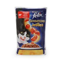 Kassieine Felix Sensat. veis&tomat 100g