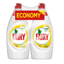 Indų ploviklis FAIRY LEMON, 2x900ml