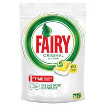 Indaplovių kaps. Fairy All in 1 Lemon 60 vnt.