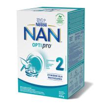 Piena maisījums Nan Optipro 2 2x400g
