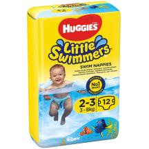 Autiņb. HUGGIES SWIMMERS 2-3, 3-8kg,12gb