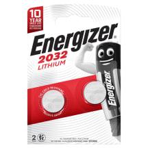 Baterijas energizer litijs cr2032 3v x 2
