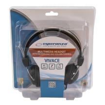 Austiņas stereo un mikrofoni Esperanza