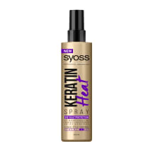 Plaukų purškiklis SYOSS KERATIN HEAT, 200 ml
