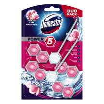 Tualetes bl. Domestos Duo Power 5 Pink 2x55g