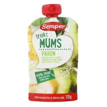 Püree Semper pirn-banaan-mango 6k 110g