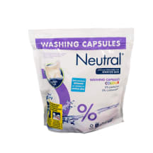 Veļas mazgājamās kapsulas Neutral Color 22gb