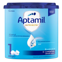 Piimasegu Aptamil 1, from birth, 400g