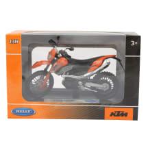 Žaislinis motociklo modeliukas WELLY 1:18