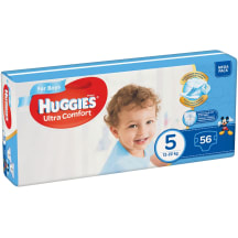 Autiņbiksītes Huggies boys 12-22kg 56gb