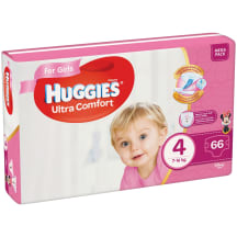 Autiņbiksītes Huggies girls 8-14kg 66gb