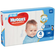 Autiņbiksītes Huggies boys 8-14kg 66gb