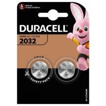 Baterijas DURACELL 2032 2 gab.