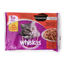Kassieine whiskas casserole classic4*85g