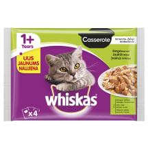 Kačių ėdalas WHISKAS CASSEROLE MIX,4vnt.x85g