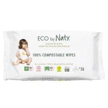 Niisked salvrätikud Eco by Naty sensit. 56tk