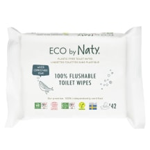 Niisked salvrätikud Eco by Naty flushab. 42tk