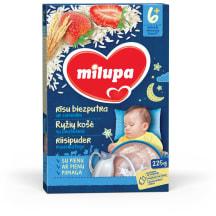Ryžių košė su braškėmis MILUPA, 6m,225g