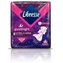 Hig.pak. Libresse Ultra Night Extra 8gab