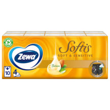 Kabatlakatiņi Zewa Soft&Sensitiv 10x9gab