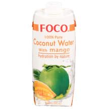 Ūdens Foco kokosriekstu mango 0,5l