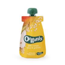 Biezenis Organix mango,bumb.,auzu p. 6m. 100g