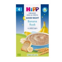 Piimapudrupulber Hipp ban.kuiv 4k 250g