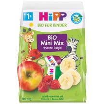 Augļu batoniņi Hipp no 1-3gadi  BIO 10x10g