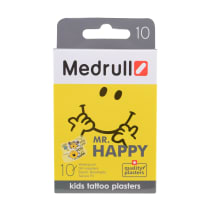 Plaaster Medrull Mr Happy laste 10tk