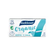 Tampoon Vuokkoset Organic Normal 16tk