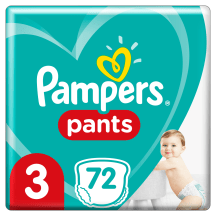 Sauskelnės PAMPERS PANTS GP 3, 6-11kg, 72vnt.