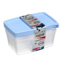 Trauki saldētavai/mikrov. krāsnij 3x0,8l