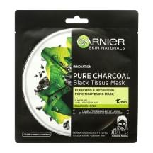 Sejas maska Garnier ar melnajām aļģēm, auduma