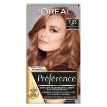 Pl. dažai L`OREAL PREFERENCE ROSE GOLD 7.23