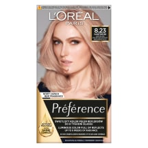 Pl. dažai L`OREAL PREFERENCE ROSE GOLD 8.23