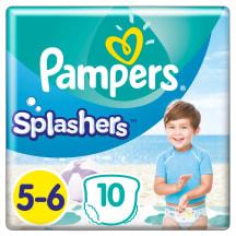 Biksītes Pampers Splashers S5 10gab.