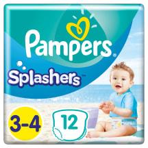 Biksītes Pampers Splashers S3 12gab.