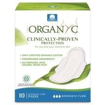 Higieniniai paketai ORGANYC MODERATE, 10vnt.