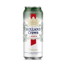 Alu.HOLLAND CROWN PREMIUM LAGER, 4,8 %, 0,5 l