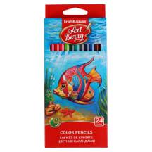 Spalvoti pieštukai ARTBERRY, 24 spalvos