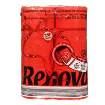 Tualettpaber Renova maxi punane 3 k 6r