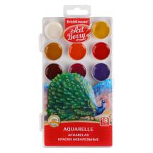 Akvarellvärvid ArtBerry 18 värvi