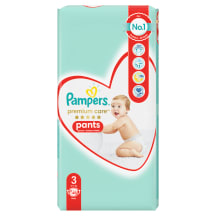 Autiņbiksītes Pampers Premium Pants S3 48gb