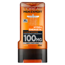 Dušo želė MEN EXPERT SHOWER ENERGETIC, 300ml