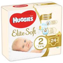Autiņb. Huggies Elite Soft 4-7kg 24gb