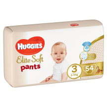 Autiņb. Huggies Elite Soft 6-11kg 54gb