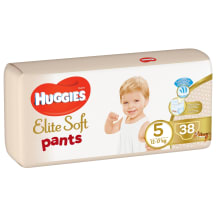 Autiņb. Huggies Elite Soft 12-17kg 38gb