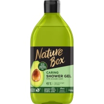 Dušo želė NATURE BOX AVOCADO, 385ml