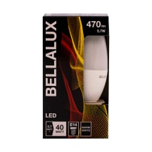 LED lamp Bellalux clb40 5,7w/827 e14